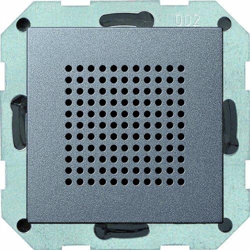 Gira 228228 Lautsprecher Unterputz Radio System 55, anthrazit