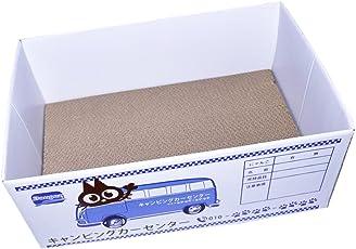 D DOLITY Kratzbrett Wellpappe Katzenkarton Katzenkorb Kratzmöbel für Katzen