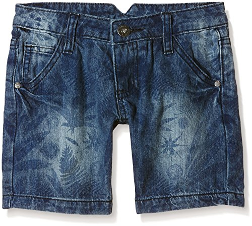 Baumwolle Crinkle-shorts (Chiemsee Jungen Shorts Lysandro J, Maori Jungle B, 152, 3011958)