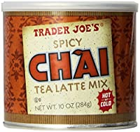 Trader Joe's Spicy Chai Latte 10 oz (2 pack)