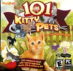 101 KITTY PETS - VIRTUAL PET GAME