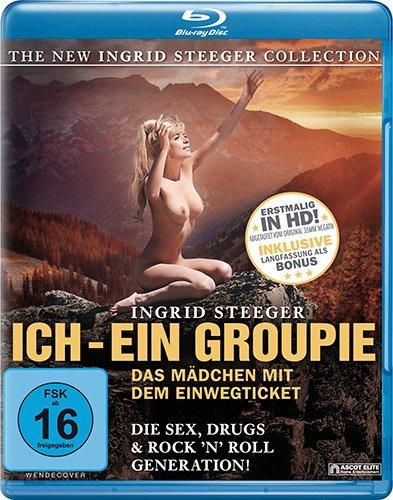 Preisvergleich Produktbild Ich,  ein Groupie (The New Ingrid Steeger Collection) [Blu-ray]