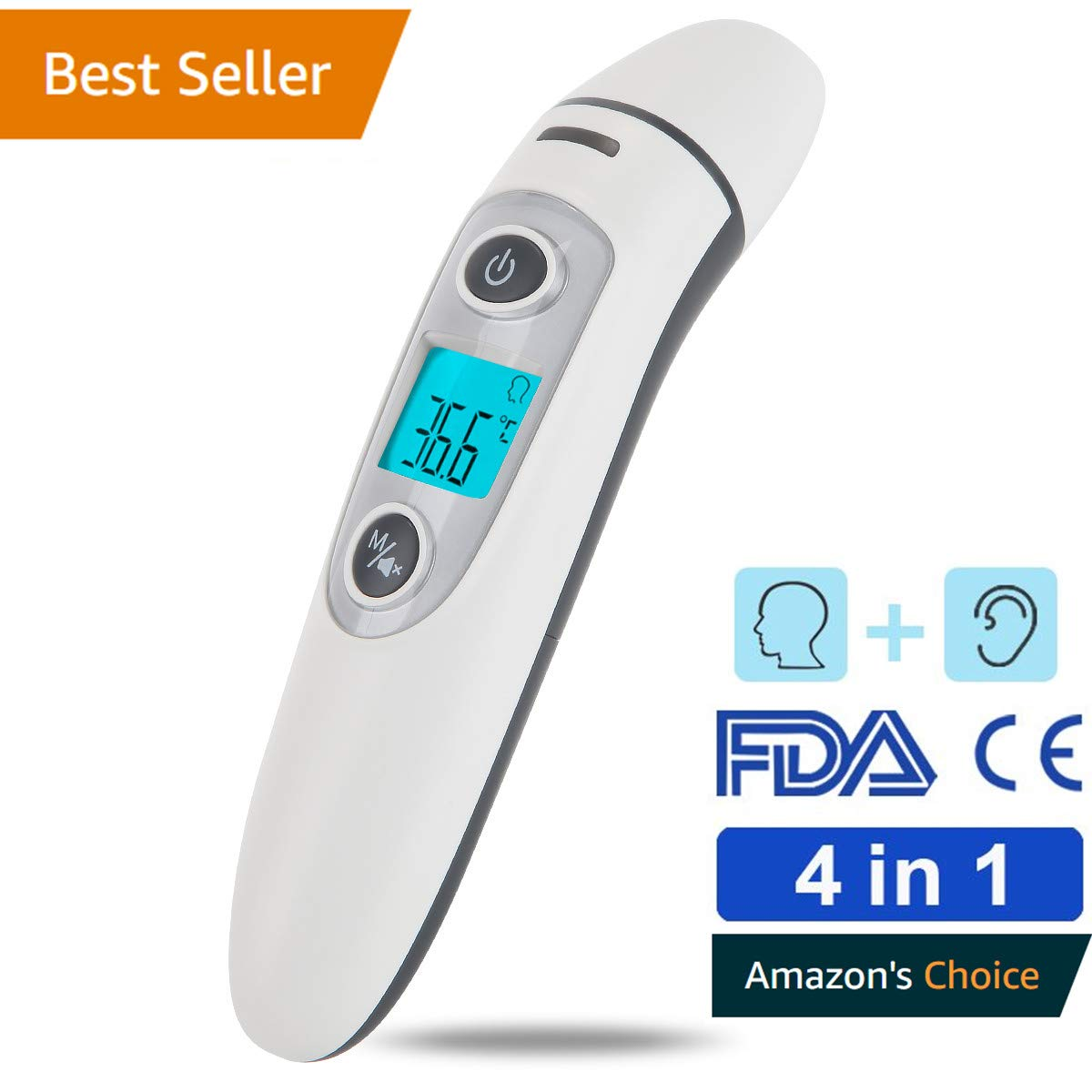 Thermometer Ear Thermometer Forehead Thermometer Medical Professional Precision