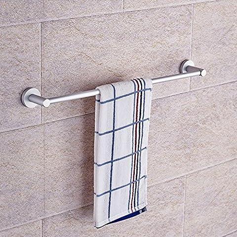 FEI&S Espacio toallero aluminio ,60CM círculo inferior