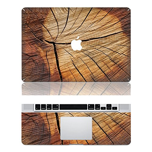 "Preisvergleich Produktbild decalshut Holz Muster Aufkleber Abnehmbare Schützende Haut Aufkleber für Apple Macbook Aufkleber, wood 10, MacBook Air 11.6"" inch (A1370/A1465)"