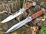 *2er Set* USA SABER Jagd-Dolch - Outdoor-Messer