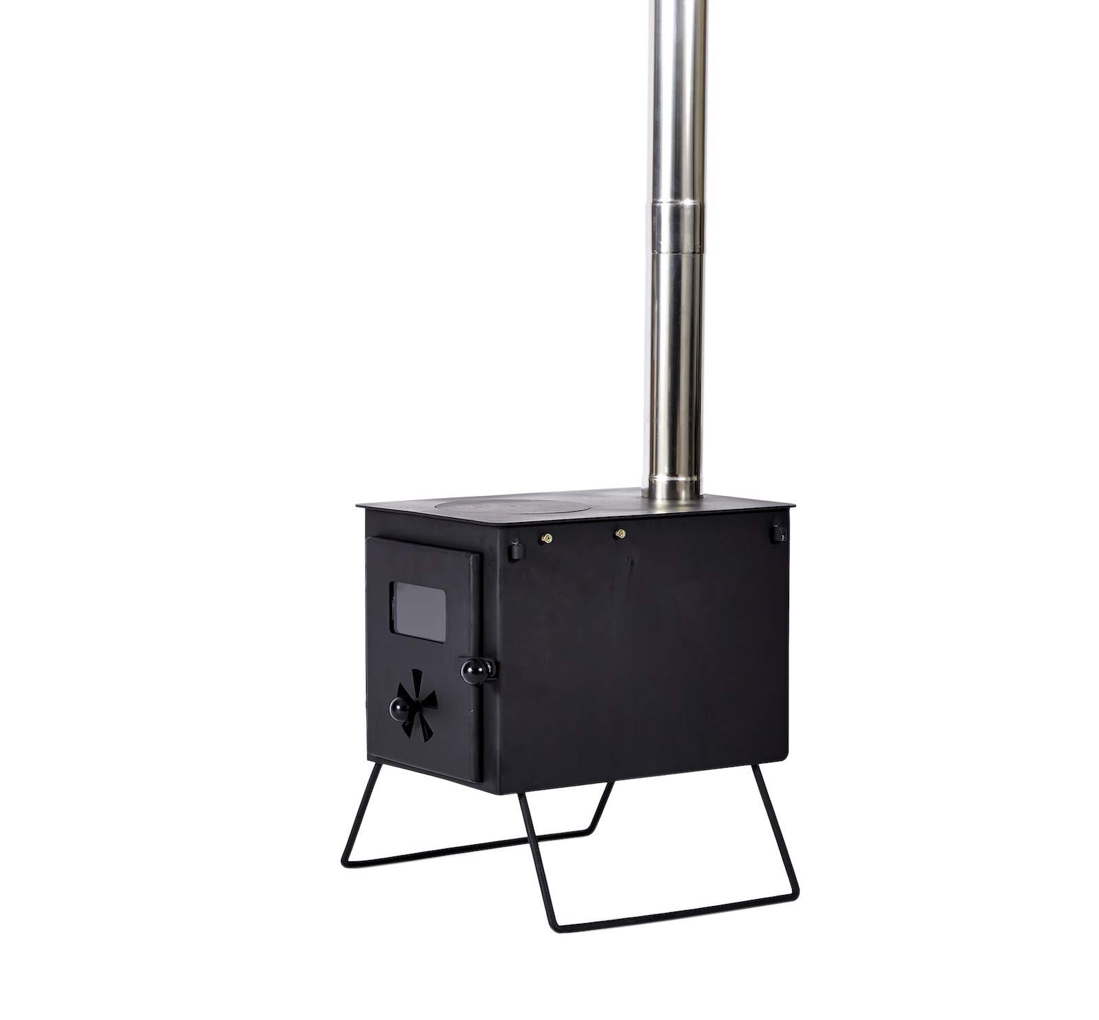 Outbacker 'Firebox' Portable Wood Burning Stove 7