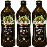 3x Farchioni Olivenöl Extra Vergine 100% Italiano, 1000 ml