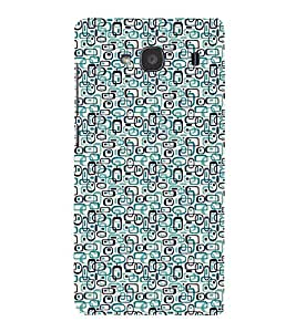Fuson Premium Back Case Cover Pattern rings With White Background Degined For Xiaomi Redmi 2S::Xiaomi Redmi 2::Xiaomi Redmi 2 Prime