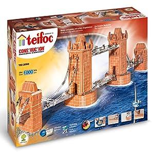 Teifoc TEI 2000 Tower Bridge - Juego de construcción importado de Alemania