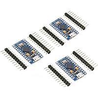 KeeYees Pro Micro ATmega32U4 5V 16MHz Entwicklerboard Modul für Arduino Leonardo Board (3 Stück)