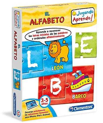 Clementoni - El Alfabeto, juego educativo (65594.6)