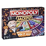 In the monopoly jackpot game, players spin for the chance to win it all! Throughout the game, players travel around the outer track of the gameboard buying properties and collecting rent. But if they land on a chance space, or roll the chance icon on...