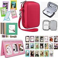 Katia Accessory for Imprimante portable HP Sprocket / Imprimante mobile Polaroid ZIP / Imprimer Photos de médias sociaux, Rouge