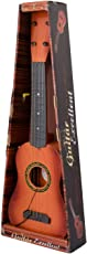 """Toyshine 4-String Acoustic Guitar Learning Kids Toy, Brown 18"""""""