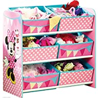 Preisvergleich für Minni Maus Regal Kindermöbel Kinderregal Spielzeugkiste Minnie Mouse 655412