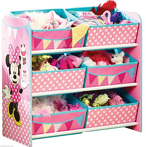 Minni Maus Regal Kindermöbel Kinderregal Spielzeugkiste Minnie Mouse 655412 (Regal Maus)