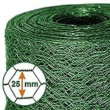 Mammut® Drahtzaun / Sechskant-Geflecht | Maschenweite 25 mm | Gartenzaun | Länge und Höhe wählbar