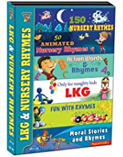 Lkg & Nursery Rhymes (Pack of 6 VCD's)
