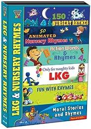 Lkg & Nursery Rhymes (Pack of 6 VC