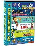 Lkg & Nursery Rhymes (Pack of 6 VCD's)