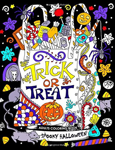 Adults Coloring Book: Spooky Halloween Fun and Relaxing ()