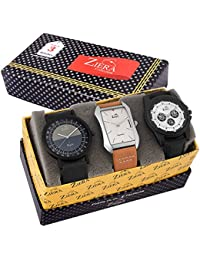 Ziera ZR7031/33/38 Combo Of 3 Exclusive Analog Watch - For Men