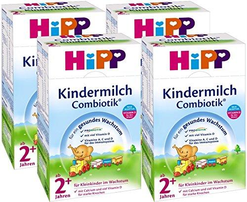 Hipp Kindermilch Combiotik 2+, ab dem 2. Jahr, 4er Pack (4 x 600g)