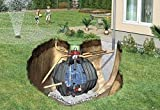 Carat 13000 L Garten-Komfort - Graf Erdtank-Paket begehbar
