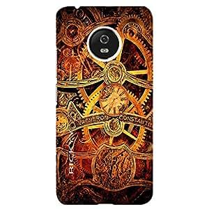RICKYY Vacferon design printed matte finish back case cover for Motorola Moto G5