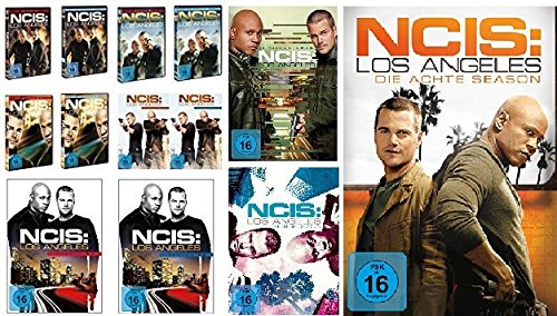 Navy CIS / NCIS: Los Angeles - komplette Season 1-8 (1.1 - 5.2 + 6 + 7 + 8) im Set - Deutsche Originalware [48 DVDs] - Staffel Ncis 4 La
