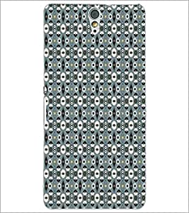 SONY XPERIA C5 CIRCLE PATTERN Designer Back Cover Case By PRINTSWAG