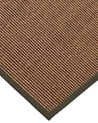 6 Moos Teppich (NaturalAreaRugs Divine Custom Sisal Teppiche, moos, 2' 6
