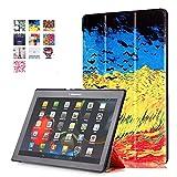 Voguecase Tablet-Schutzhülle, Lenovo Tab 2 A10-70, champ de blé d'or, Stück: 1