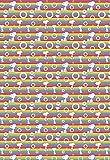 Geschenkpapierset Peanuts Rainbow 3 Bögen