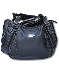 Jones sac à main jennifer sac à bandoulière sac à main pour femme en cuir synthétique noir de haute qualité