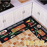 GRENSS Home Küche Badezimmer Eingang Zum Rest Füße Teppich Fußmatte Tür Bad saugfähigen Anti-Rutsch-Pad, 40 X 60 cm [2], und Gourmetküche.