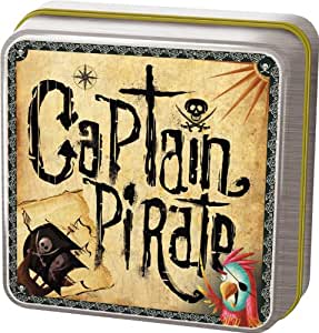 Asmodee - JP32 - Jeu d'ambiance - Captain Pirate