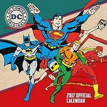 DC Comics Official 2017 Square Calendar