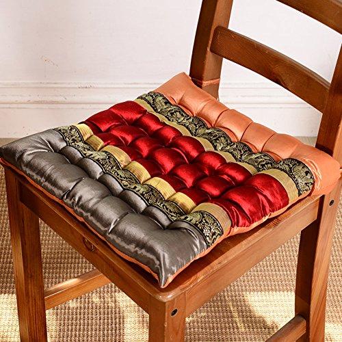 xinping Chair Pads Silla Pad Needle-Tie cojín Cojines de sofá, A, 40x40cm(16x16inch)