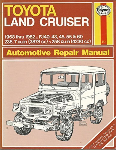 Toyota Land Cruiser Owners Manual (Toyota Land Cruiser Owner's Workshop Manual by J. H. Haynes (1977-07-02))