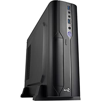 Aerocool CS-101 - computer cases (PC, Top, 1x 80 mm, Micro-ATX, Mini-ITX, Black)