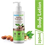Mamaearth Healing Natural Body Lotion with Argan Oil & Macadamia Nut for Women & Men with Dry Skin for All Seasons…