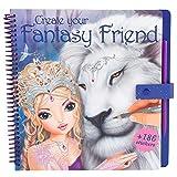 Toy - TOPModel 8061 - Create your Fantasy Friend Malbuch mit Rubbelbildern