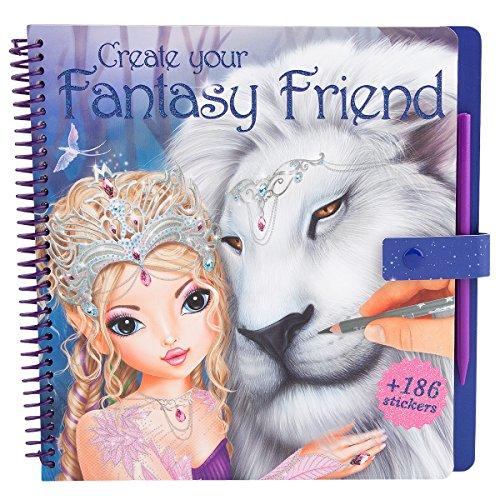 Preisvergleich Produktbild TOPModel 8061 - Create your Fantasy Friend Malbuch mit Rubbelbildern