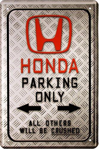 honda-parking-only-auto-car-motorrad-bike-20x30-cm-blechschild-1588