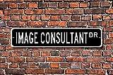 Aersing Metall Schild Post Bild Berater Geschenk Fashion Expert Geschenk Plaque Wand Home Dekoration Street Schild
