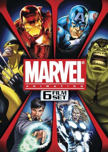 Marvel Animation 6-Film Set (Ultimate Avengers / Ultimate Avengers 2 / The Next Avengers / The Invincible Iron Man / Dr. Strange / Hulk vs. Wolverine)