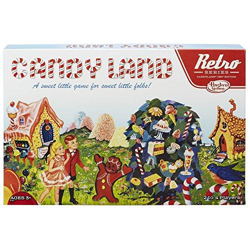 Hasbro Retro Serie Candy Land 1967Edition Spiel