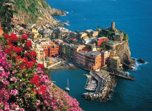 Clementoni Puzzle 34514 - Vernazza - 4000 pezzi High Quality Collection